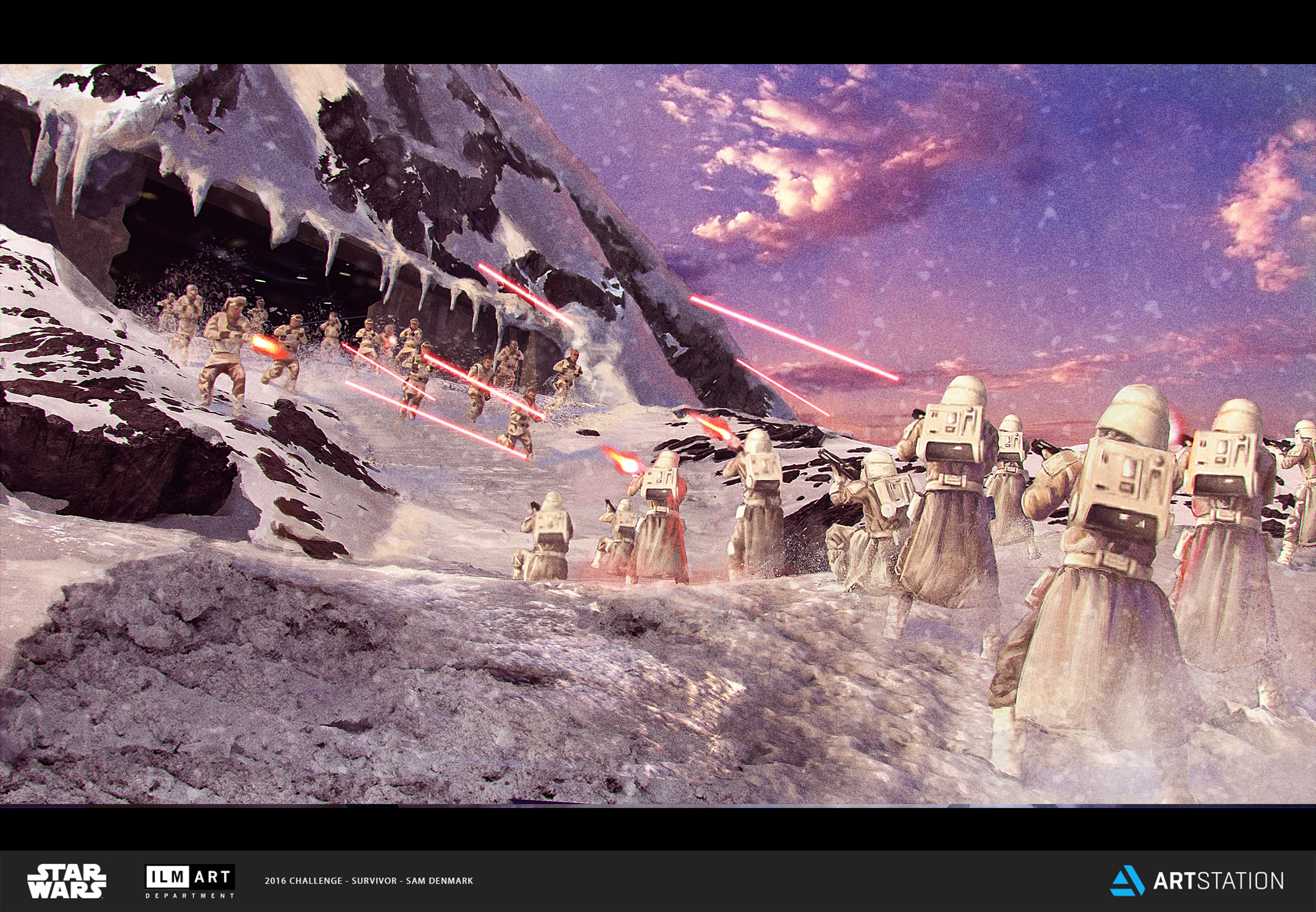 Challenge 3 - Part One: Escpae from Hoth