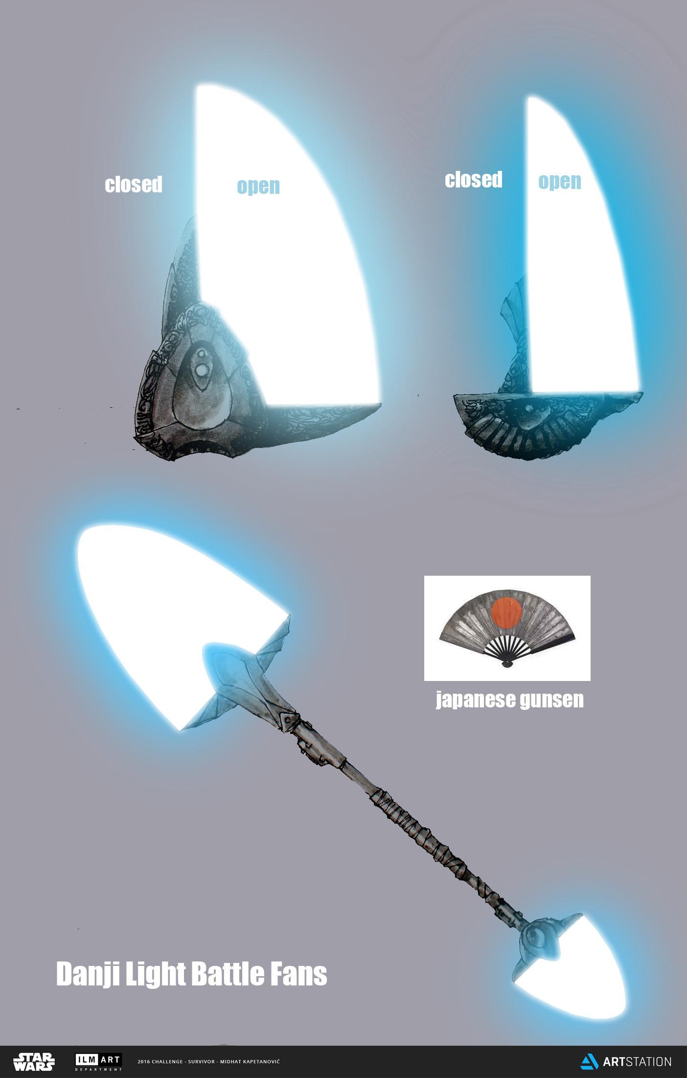 Midhat kapetanovic danji battle light fans 02
