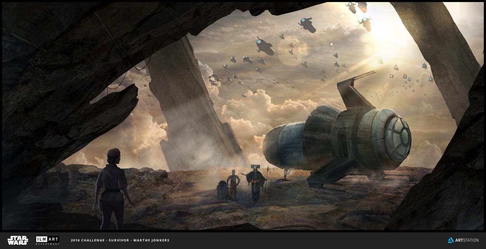 ILM Art Challenge: Danji Arrival