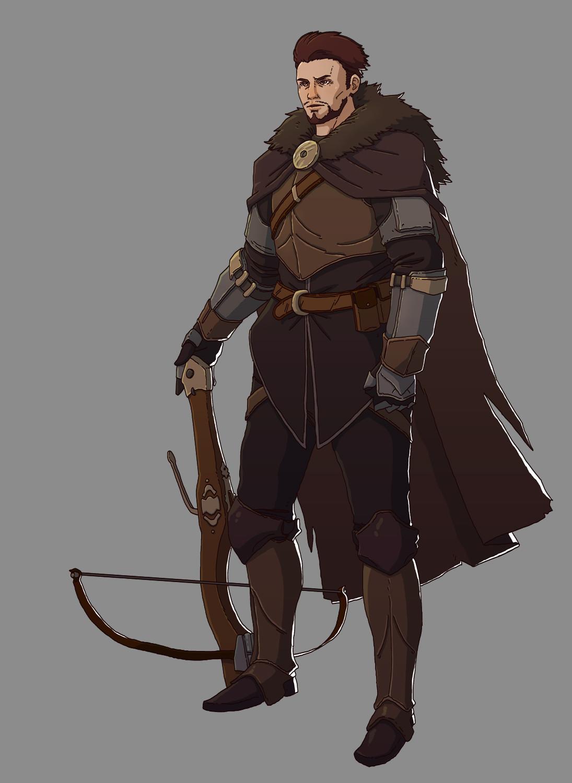 Ernesto irawan male hunter leader copy