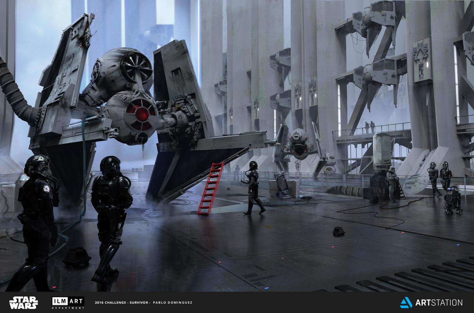ILM Art Department Challenge - The Ride
