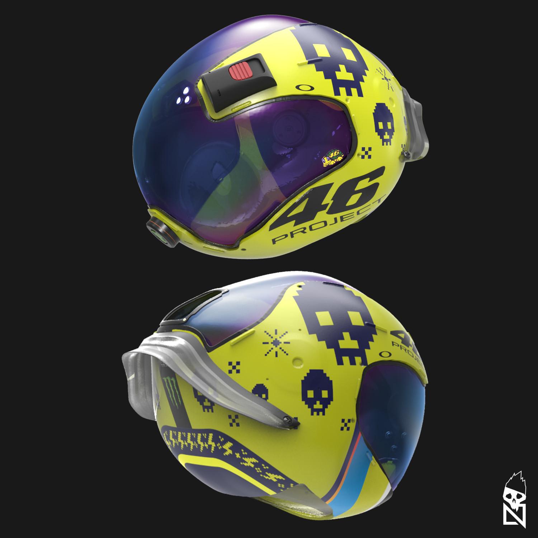 Nelson tai vr46 yamanasa helmet 001b