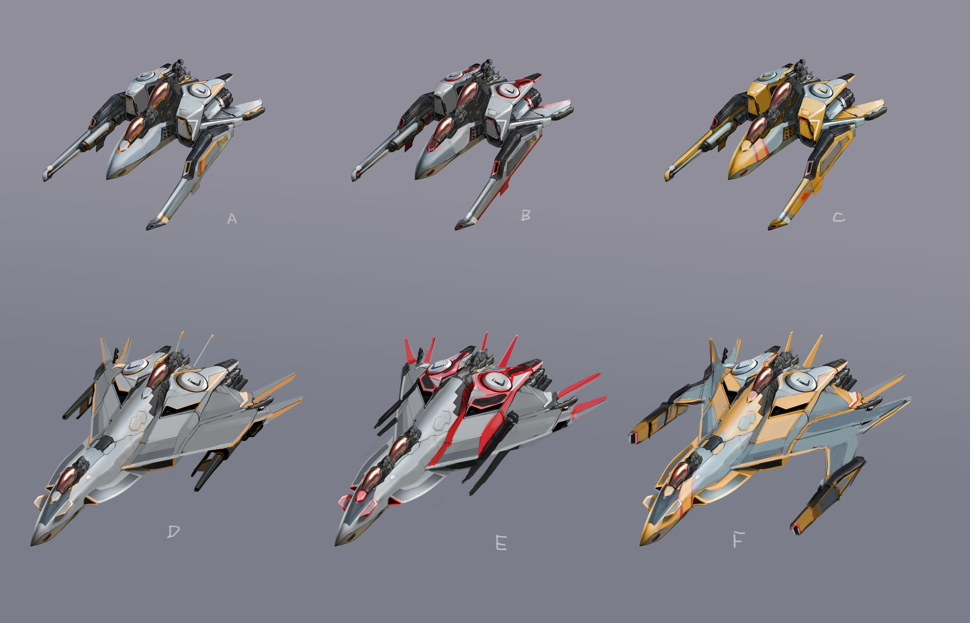 Brandon jones ship paint jobs varients