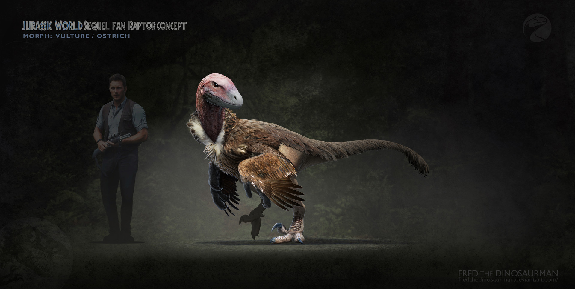 Design Squad Website >> Fred Wierum - Raptor Squad Reborn with Scientific Accuracy
