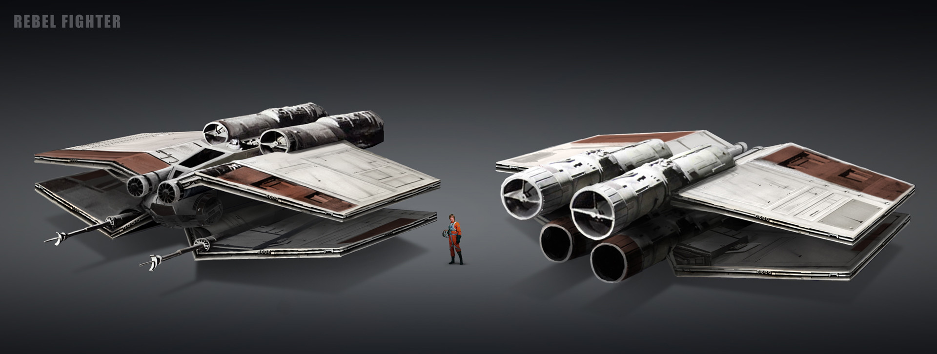 Eva kedves 4 rebel fighter base concept