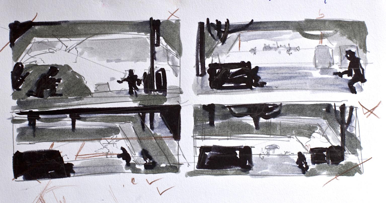 Eva kedves 4 basic sketches