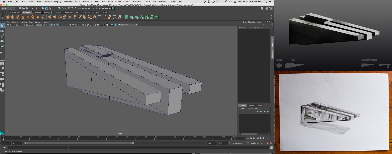Fregatt concepts and 3d model