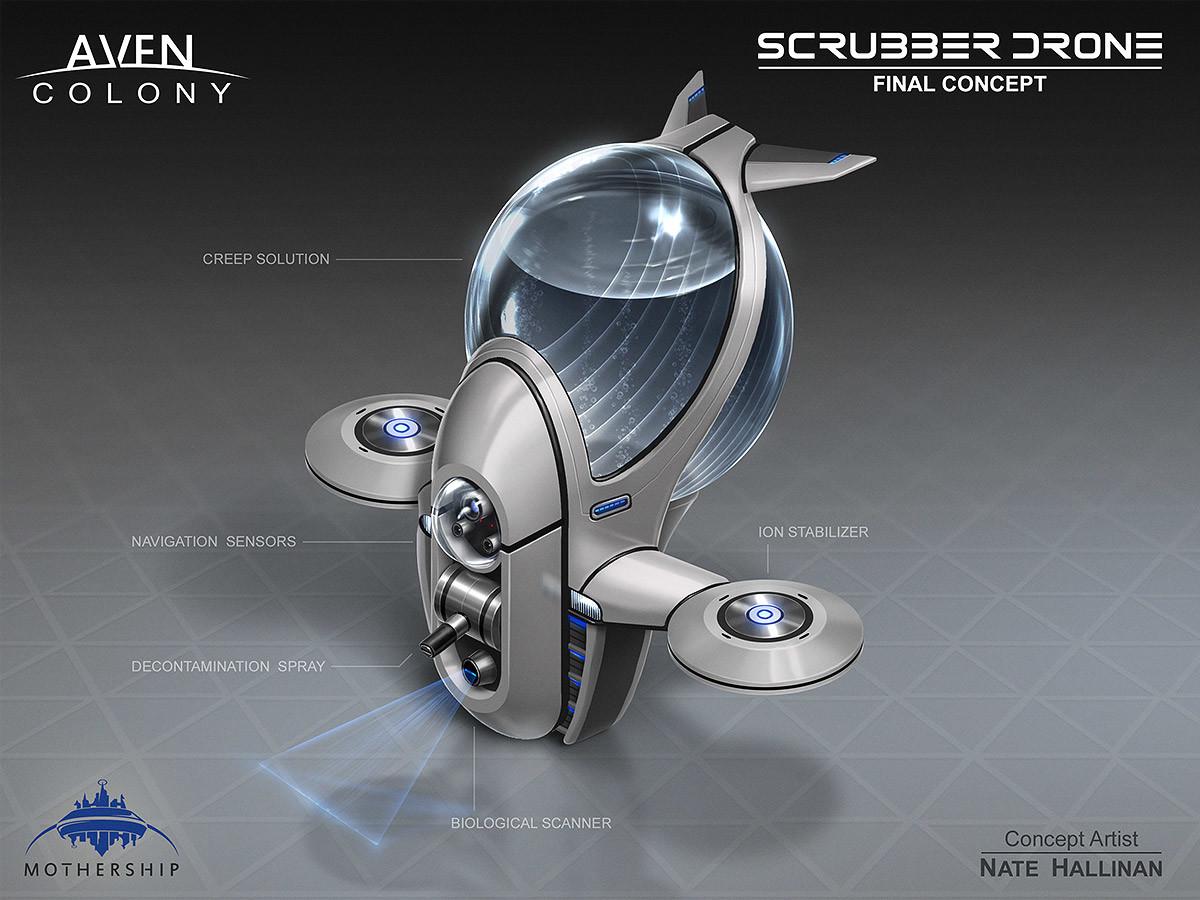 Nate hallinan ac drone scrubber concept