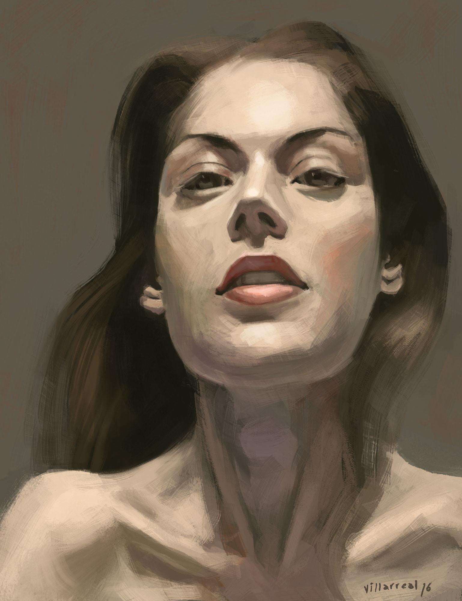 Carlos villarreal kwasek carlos villarreal kwasek portrait study 02