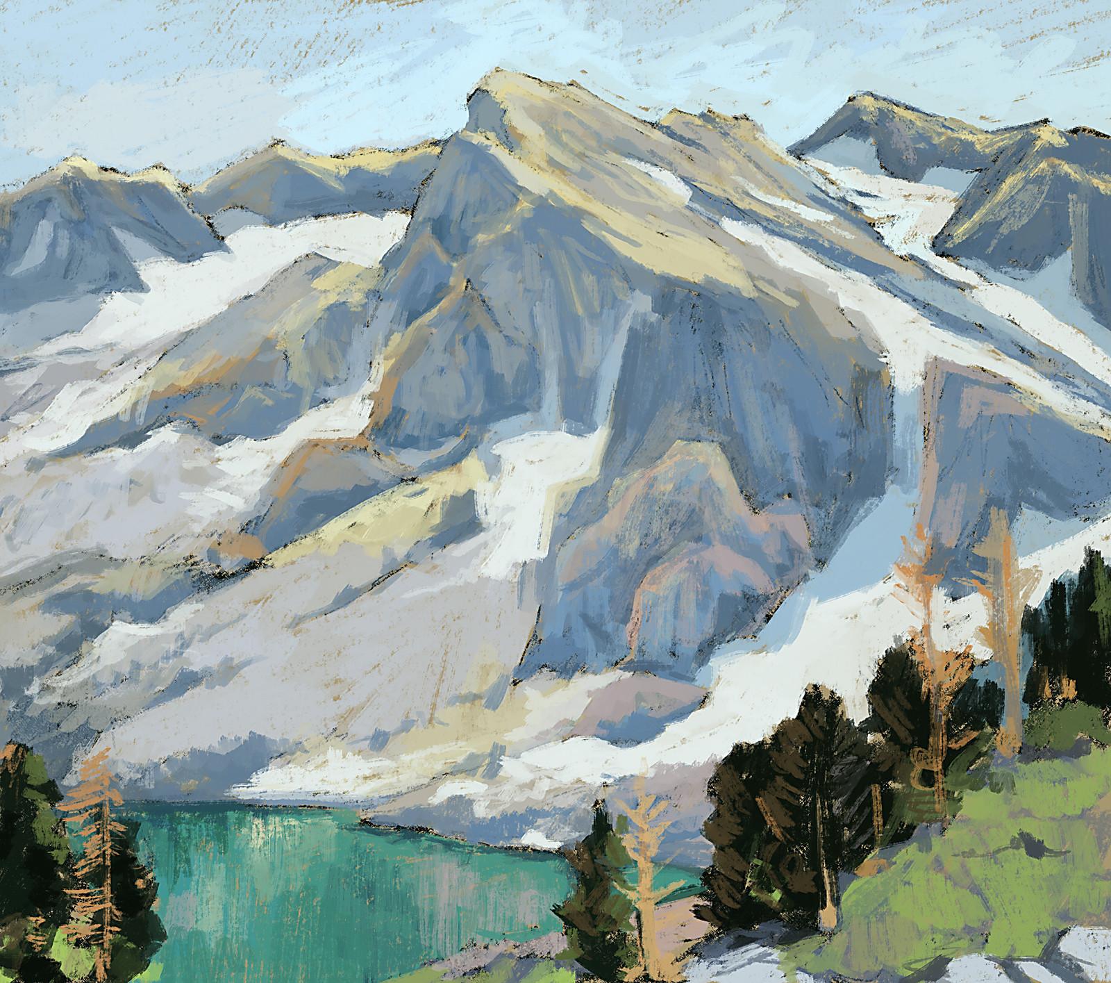 Edgar Payne  (1883 - 1947).