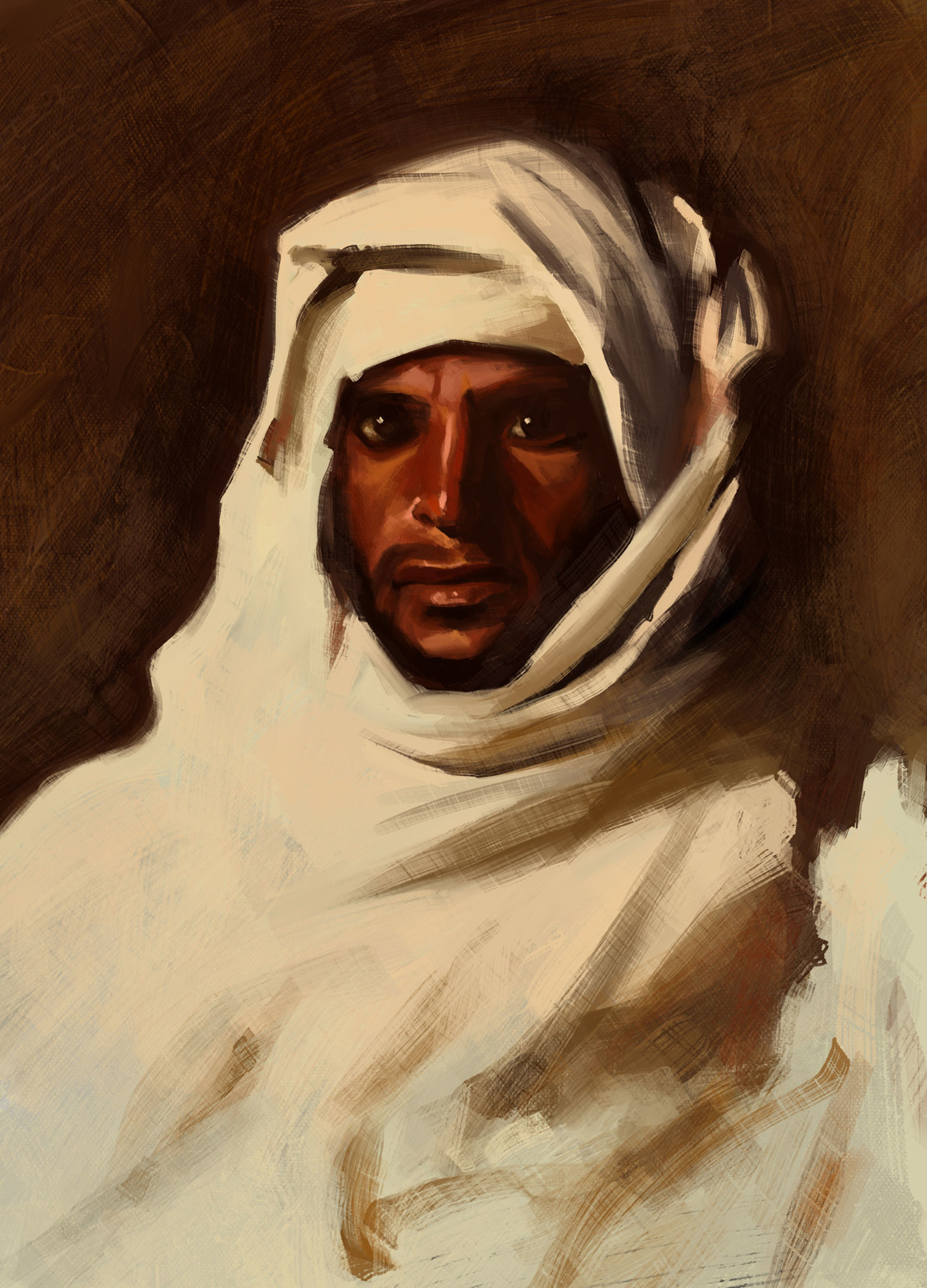 A Bedouin Arab by John Singer Sargent (1856-1925)