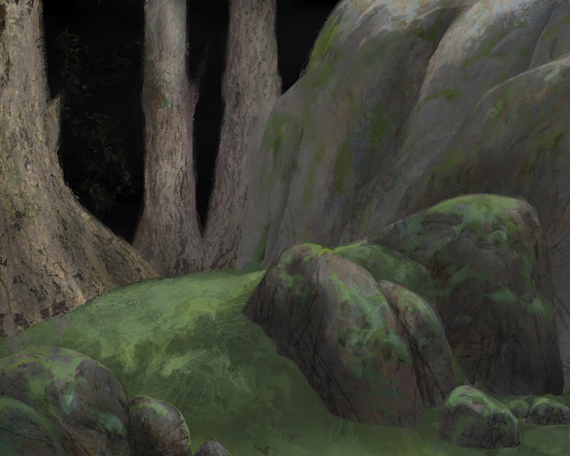 Quentin mabille forest spirit wip3