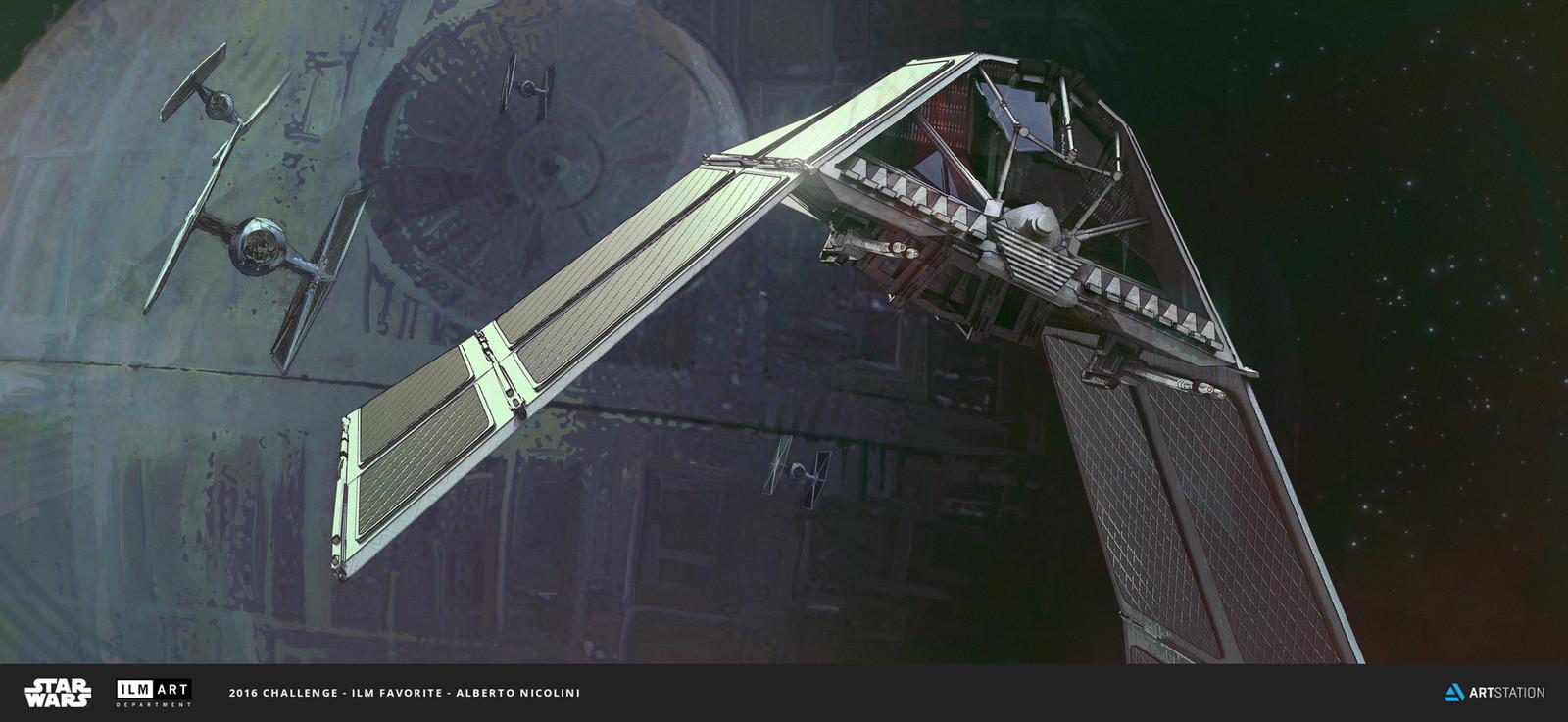 ILM Art Department Challenge: The Ride