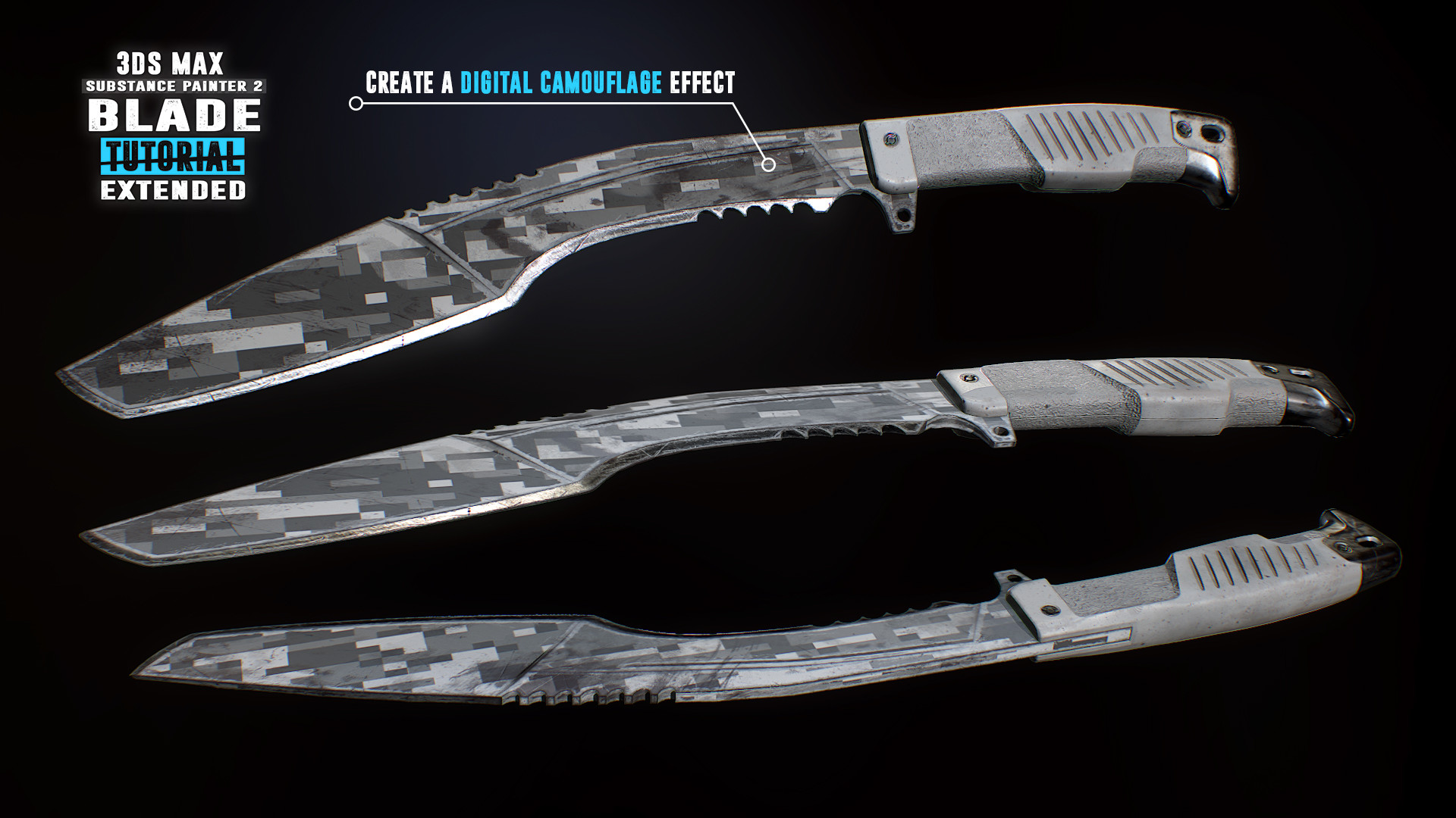 Tim bergholz chamferzone blade extended camouflage