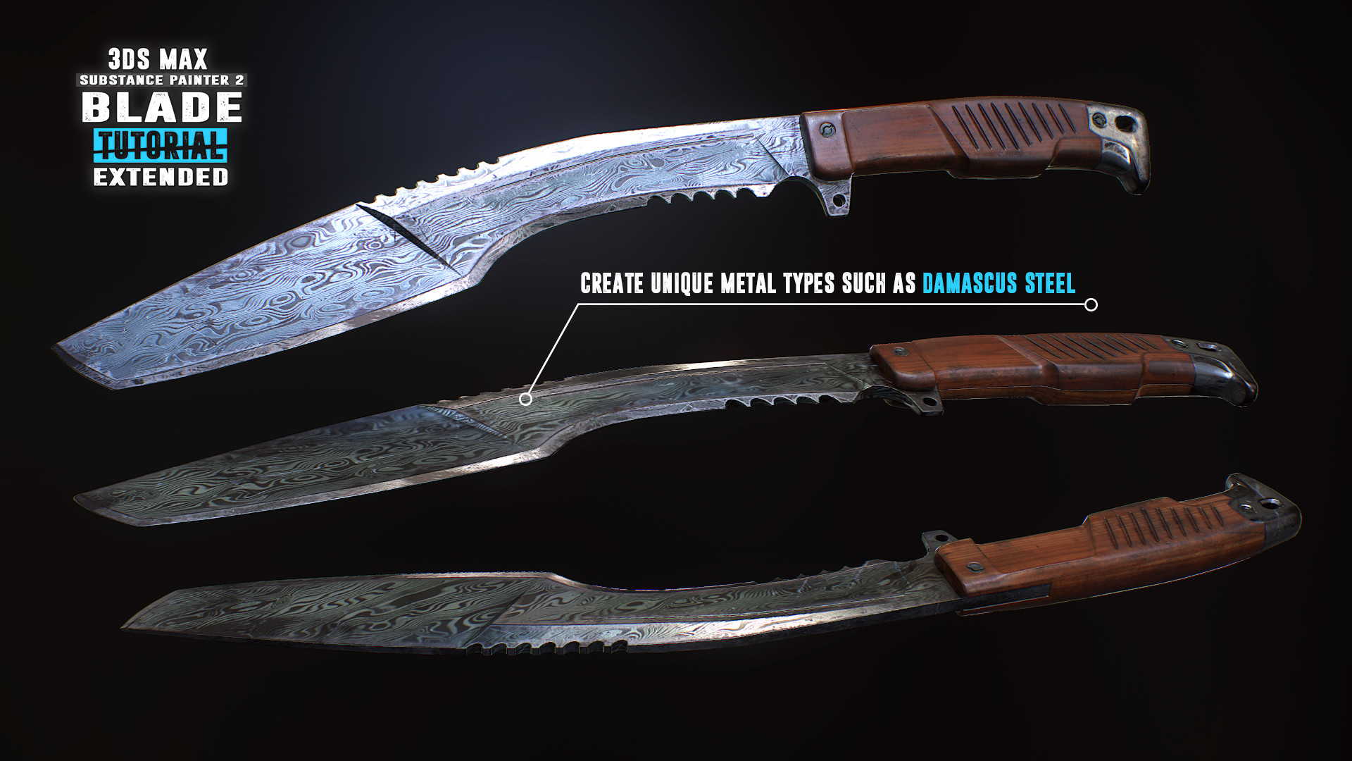 Tim bergholz chamferzone blade extended damascus