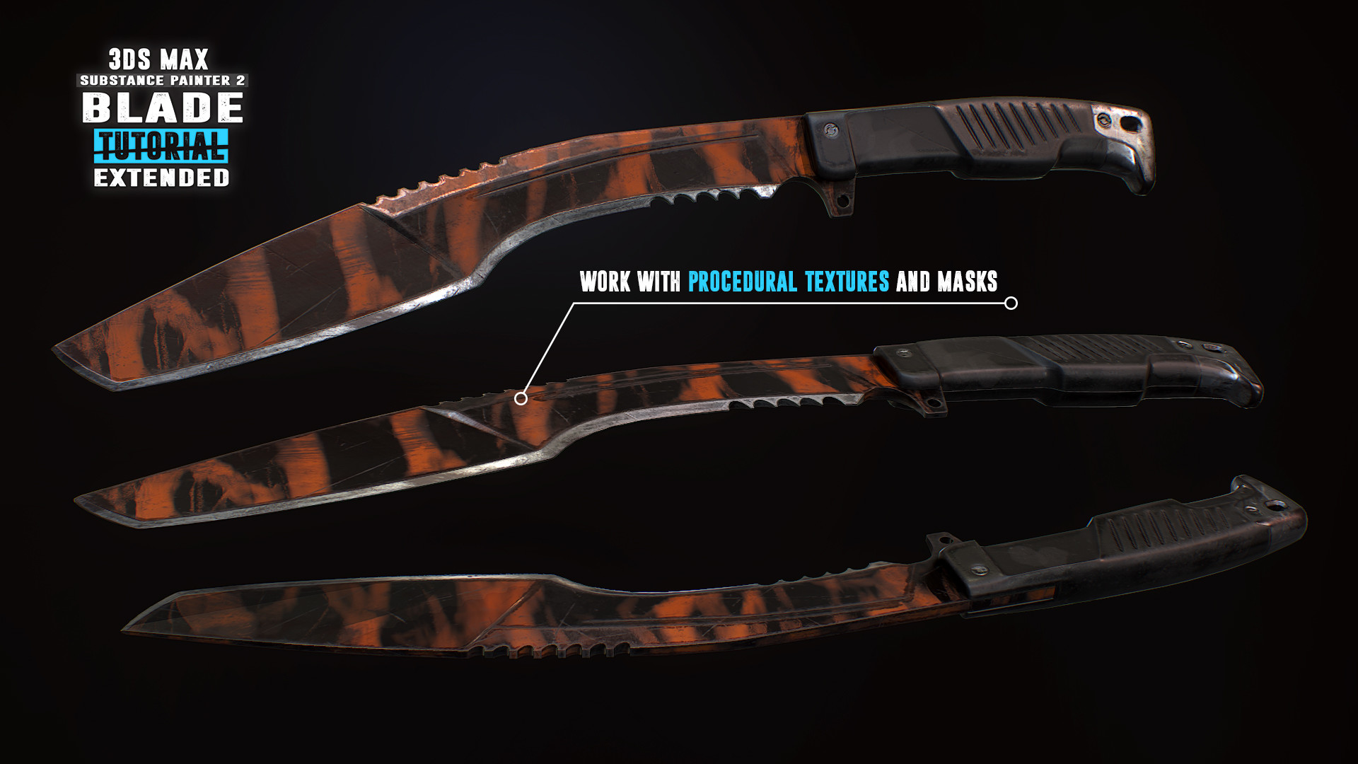 Tim bergholz chamferzone blade extended tiger