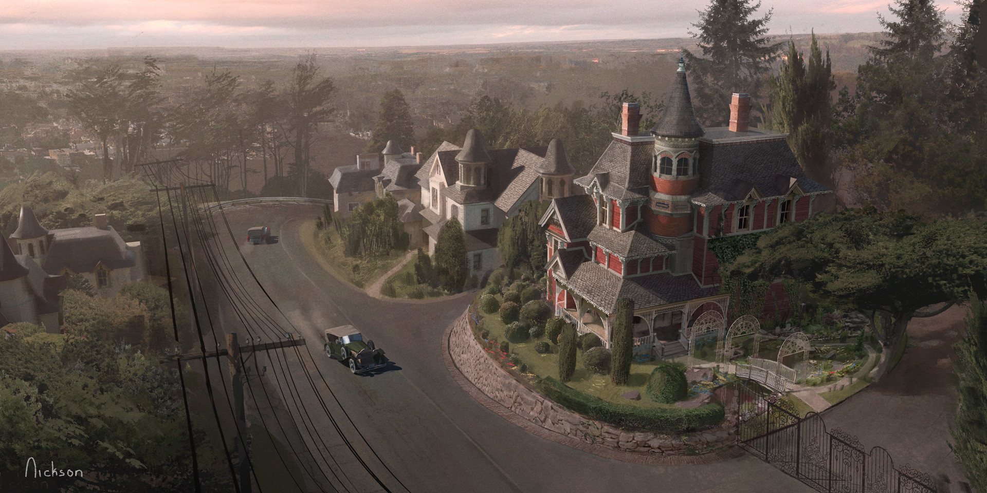 Joseph nickson gothic road