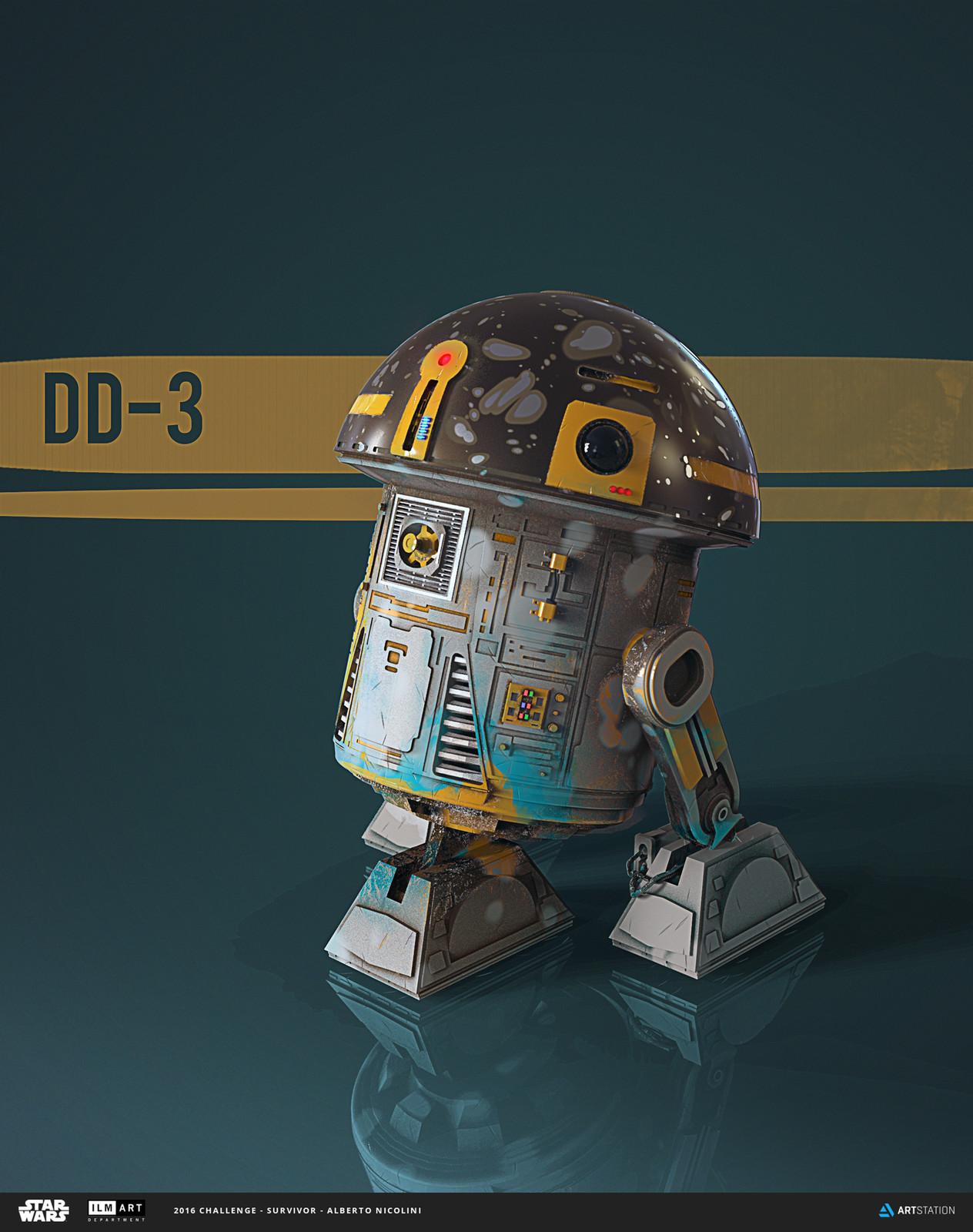 ILM Art Department Challenge: DD-3