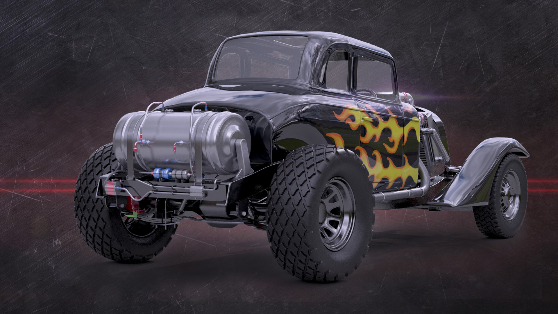 Jack Hodges - 1934 Chevy Coupe Hot Rod