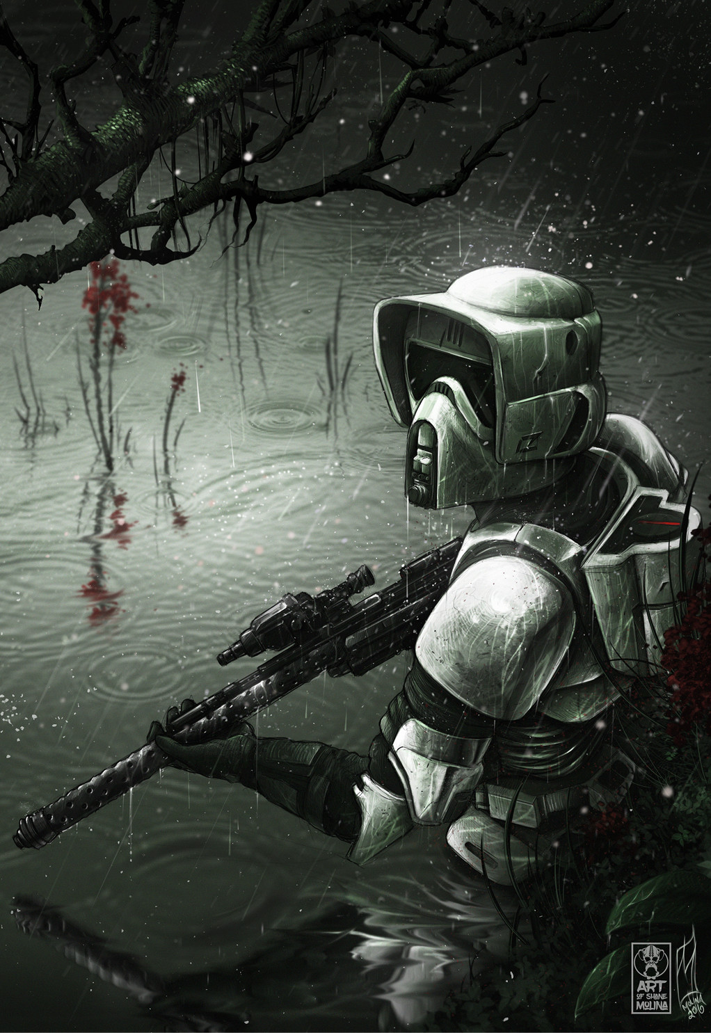 Shane molina scoutrooper final artstation