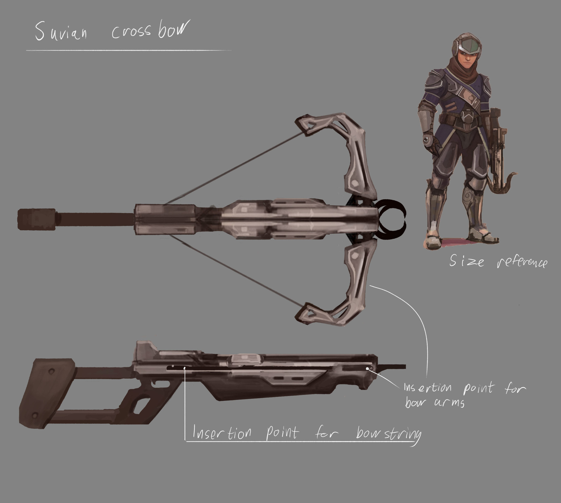 Fredrik dahl conceptart weapon suviancrossbow