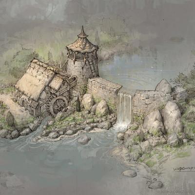 Hwanggyu kim watermill 001color