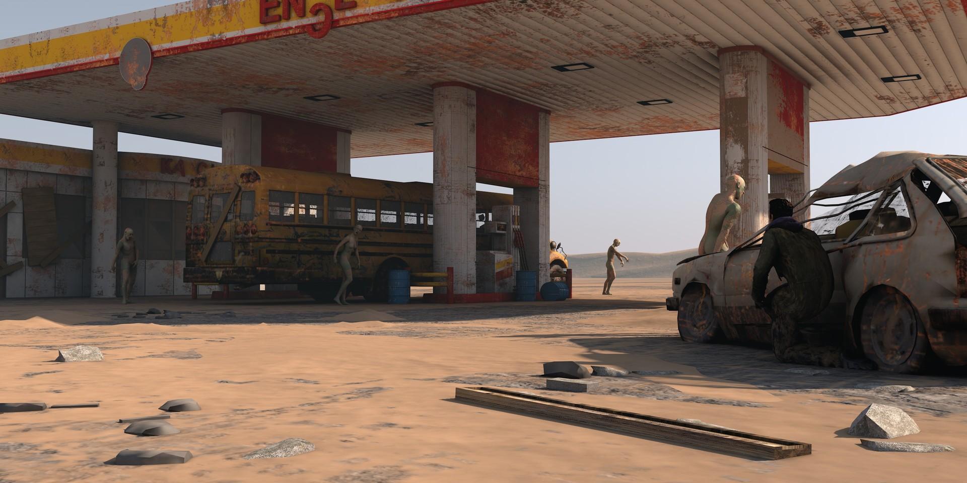 Dimitrije miljus gas station scene f