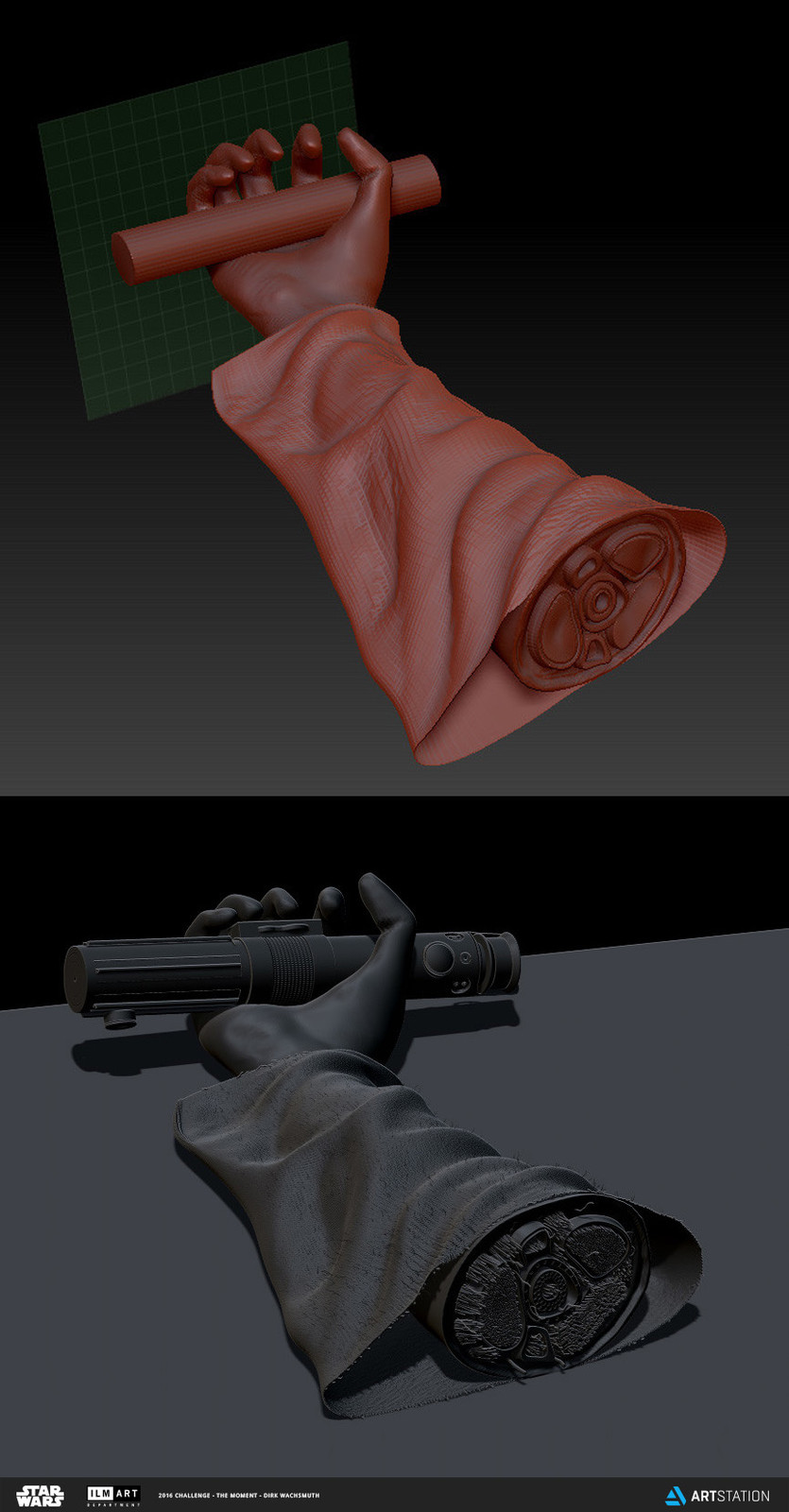 Severed arm model