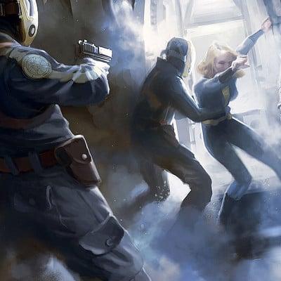 Ray lederer cryopod abduction scene