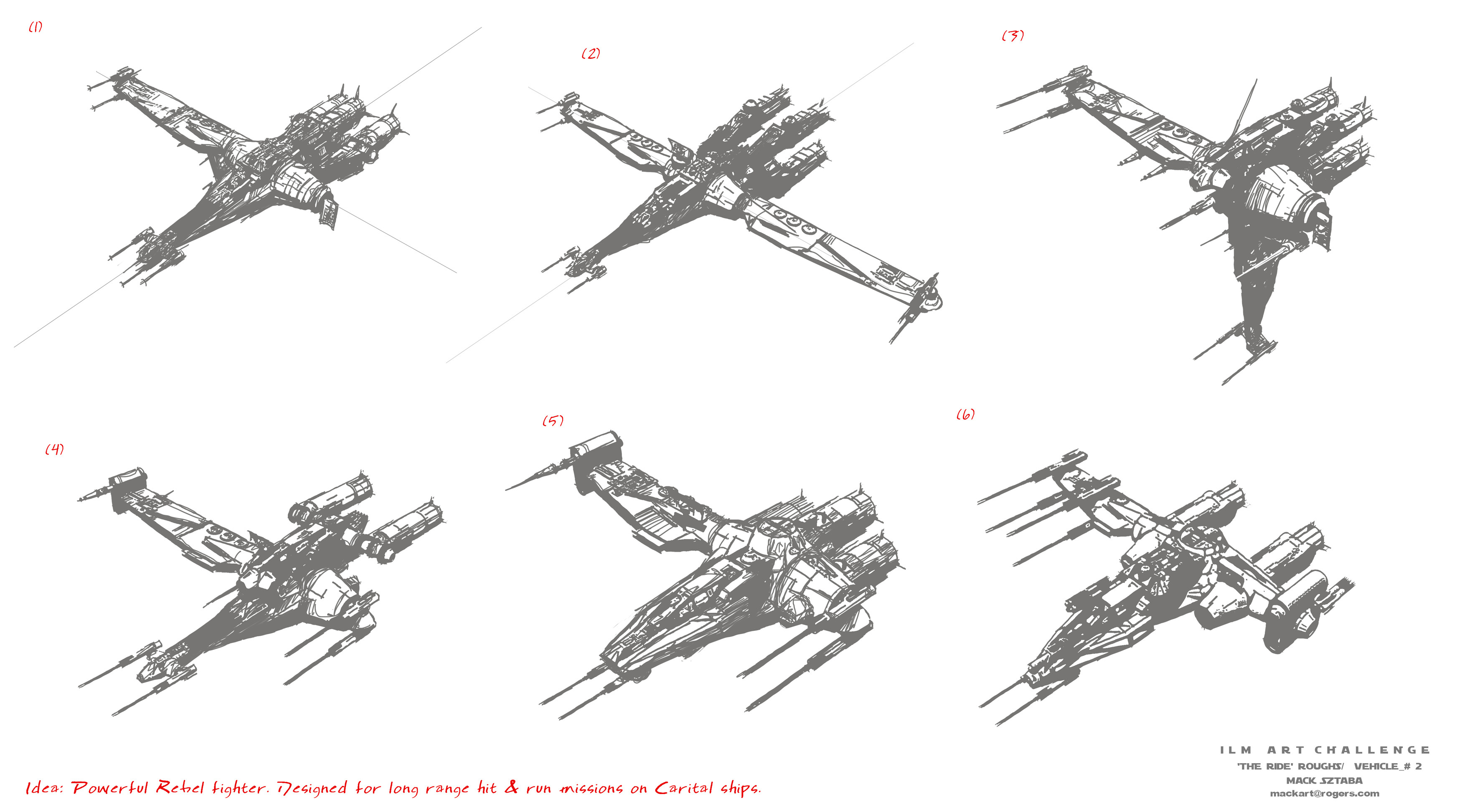 V-wing Roughs