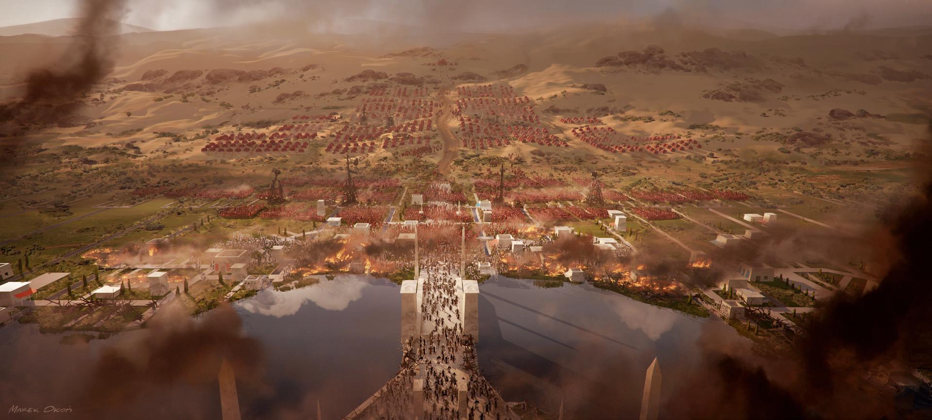 Marek okon stronghold battlefield 2 web