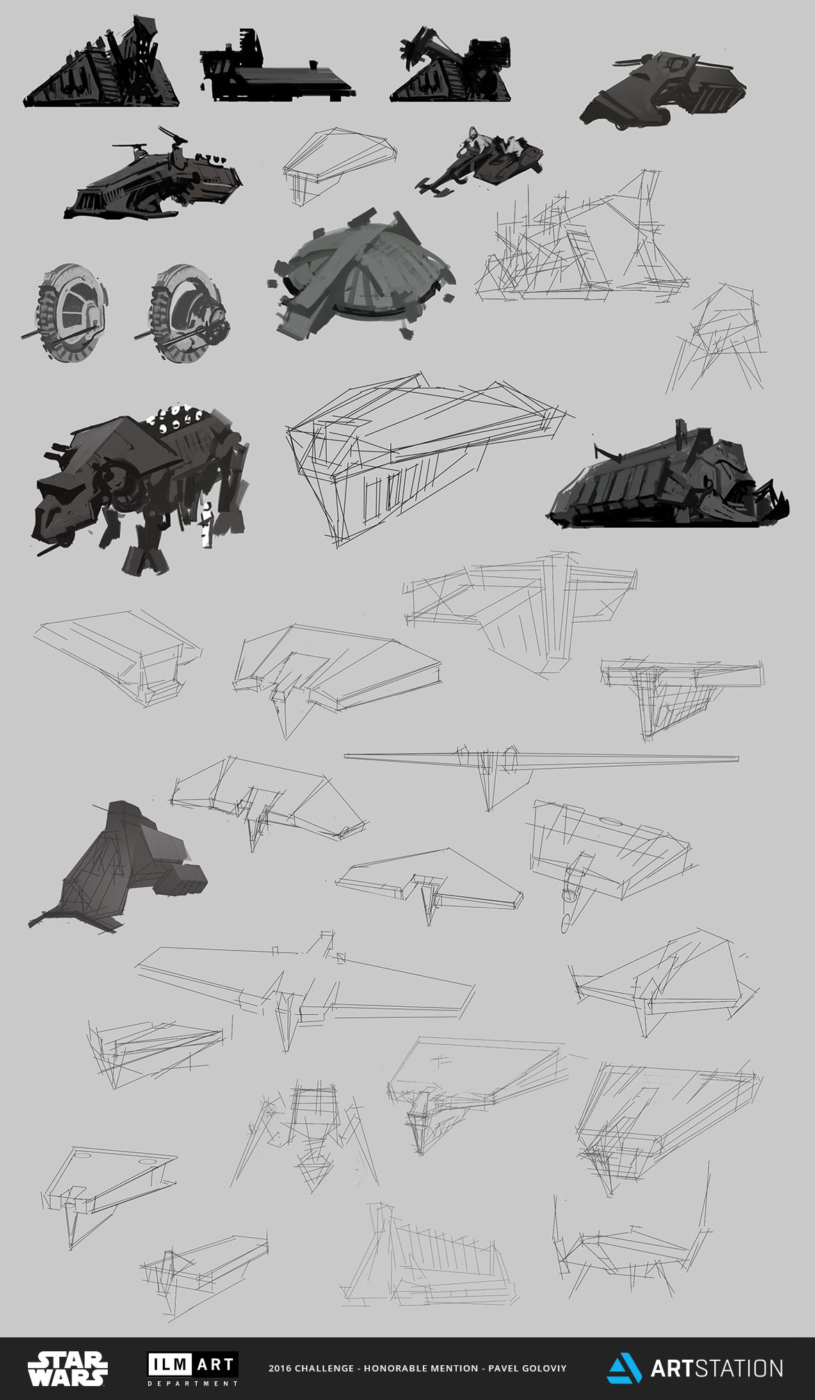 Pavel goloviy design sketches