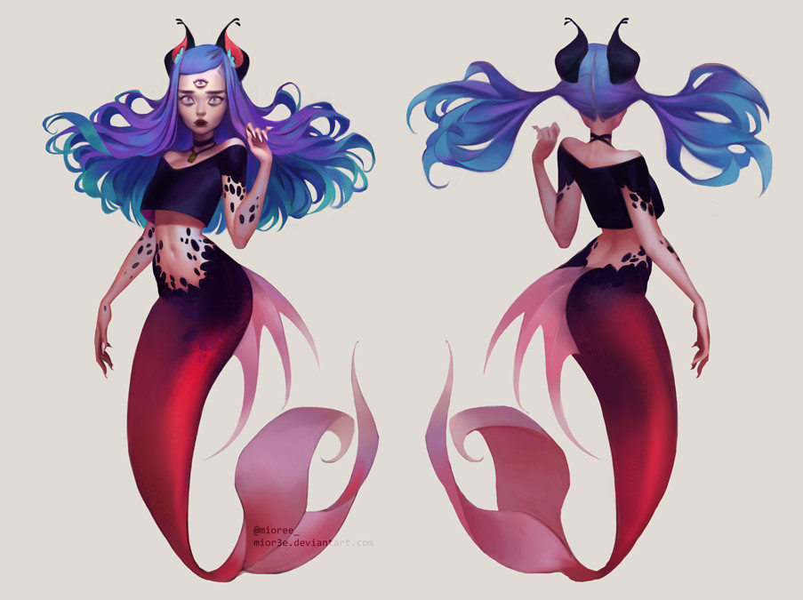Mioree feline mermaid 2016