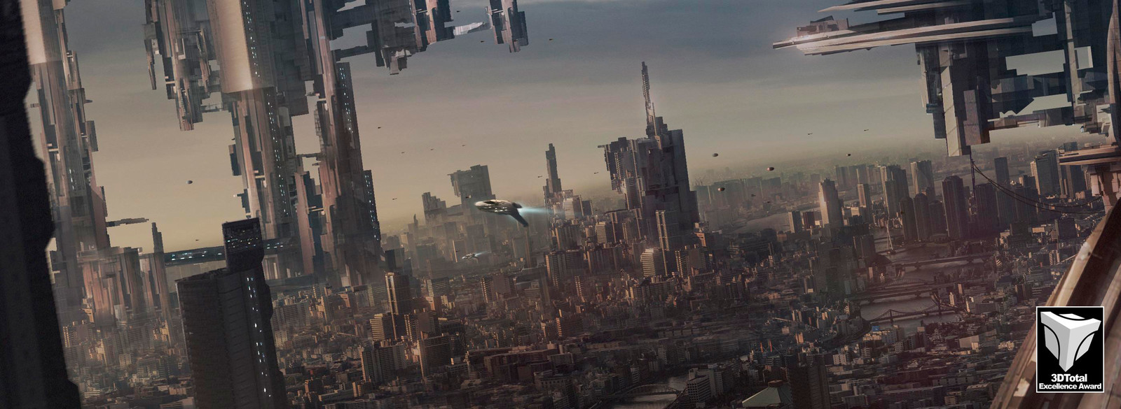 Matte Painting Practice.