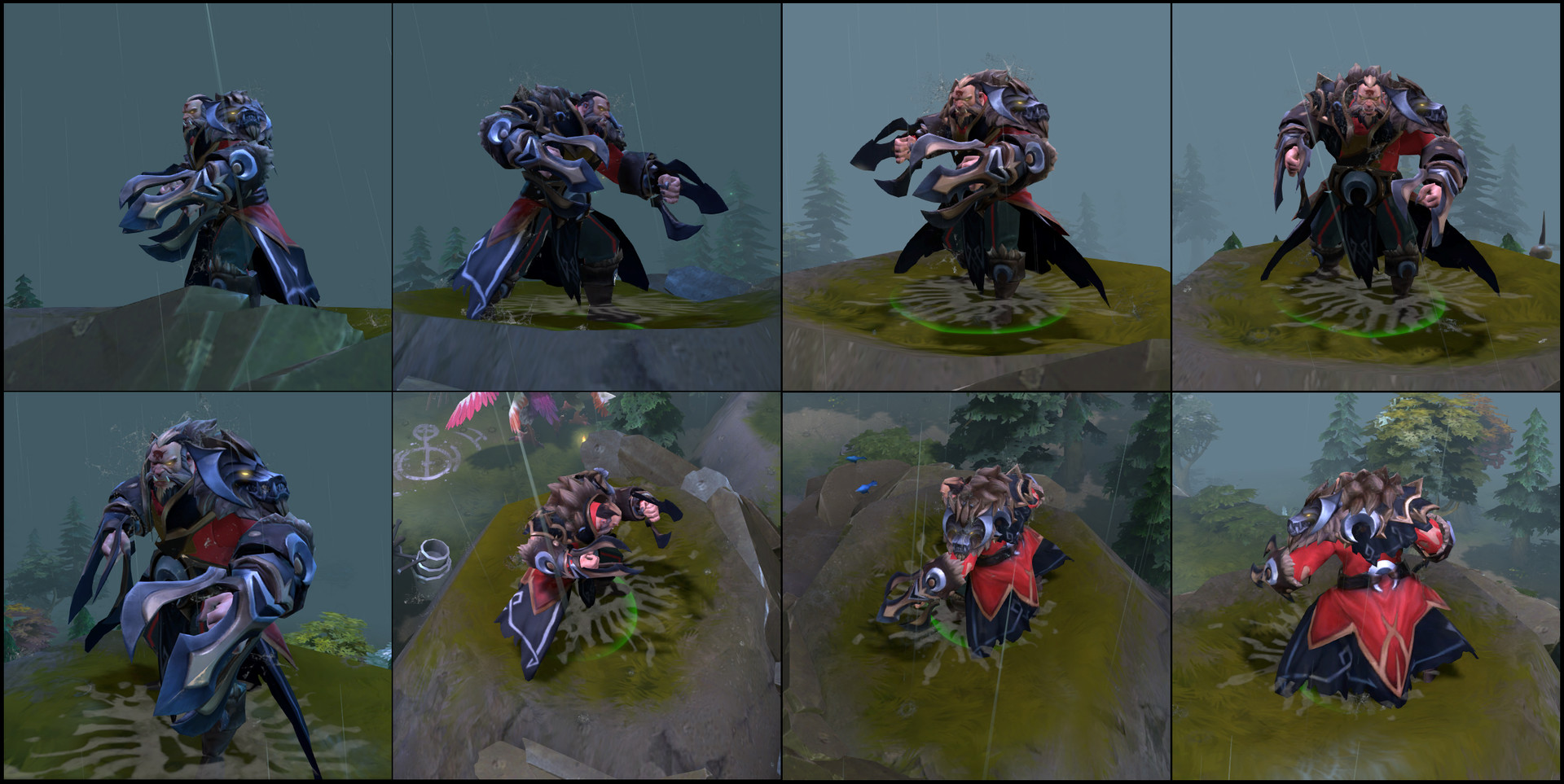 Lycan Set- Concept by Danidem
