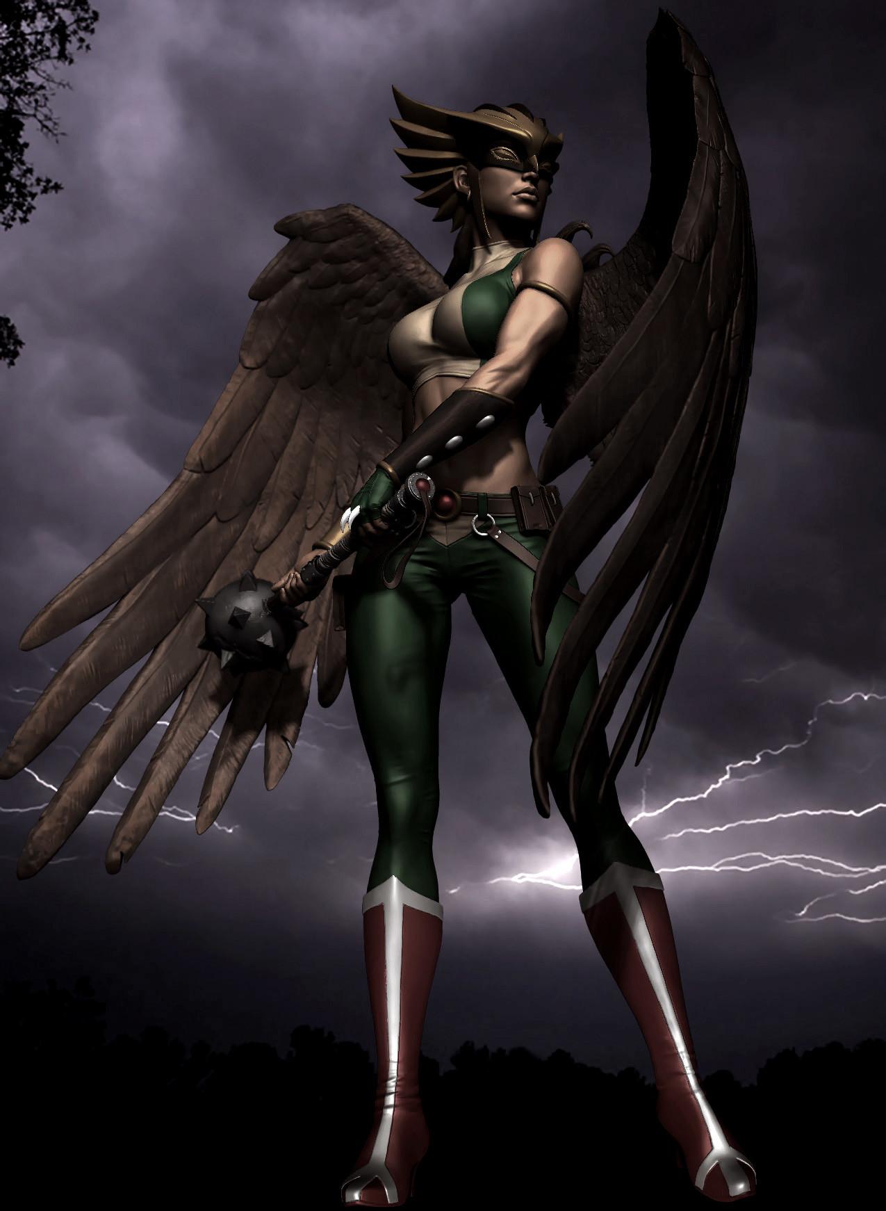 Hawkgirl nude