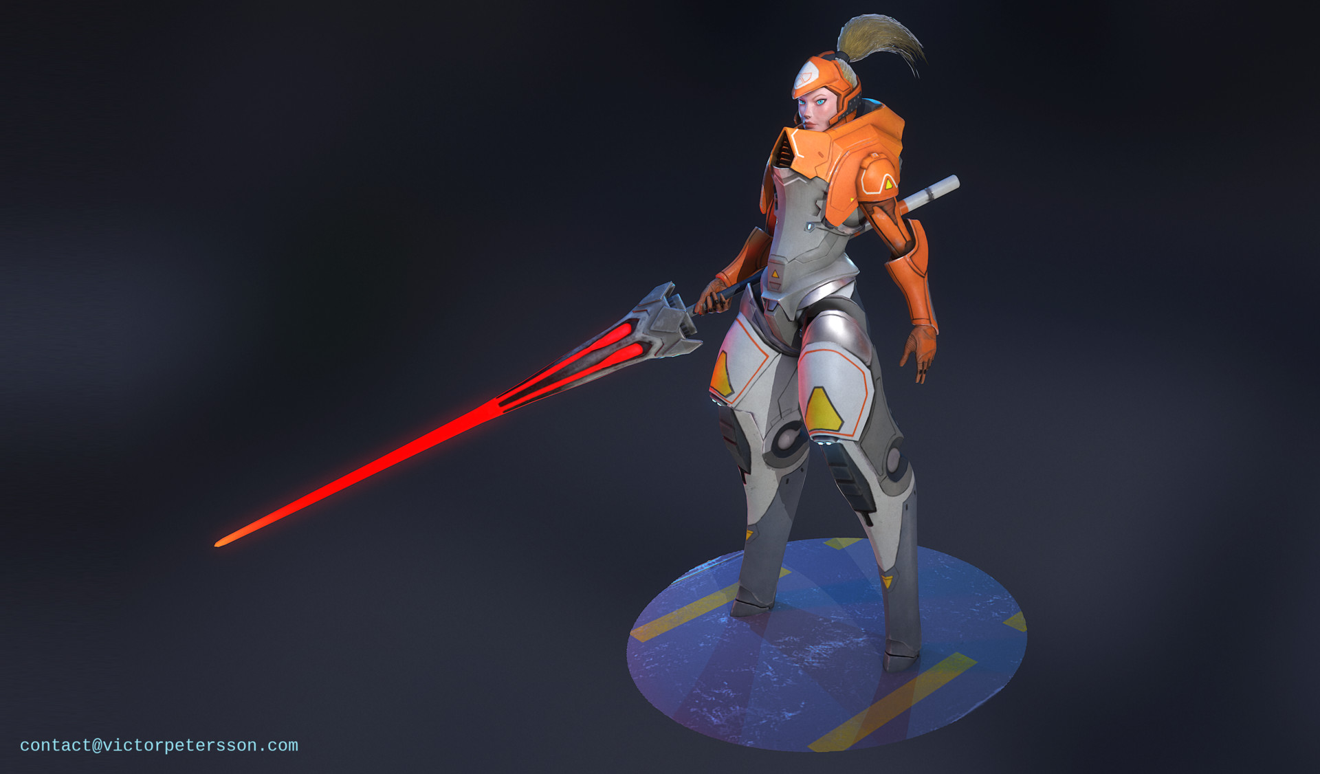 Victor petersson orangejouster conceptrender front