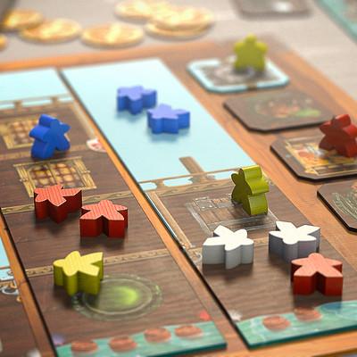 2014 - Piratoons boardgame