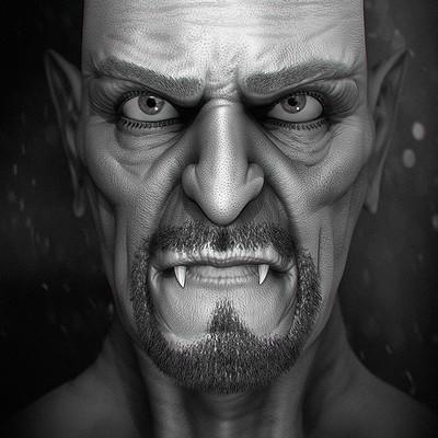 Valentin yovchev vampire face