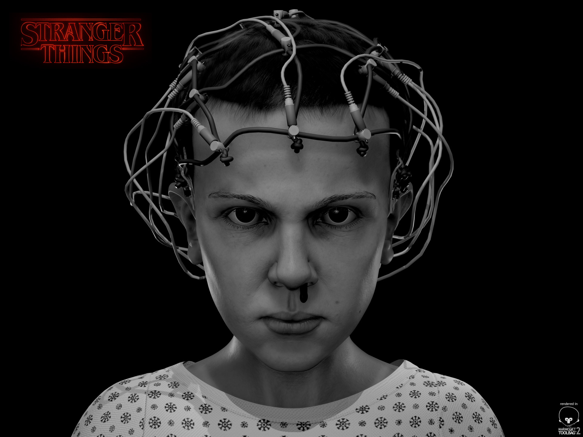 artstation eleven stranger things rodrigo rosseeuw