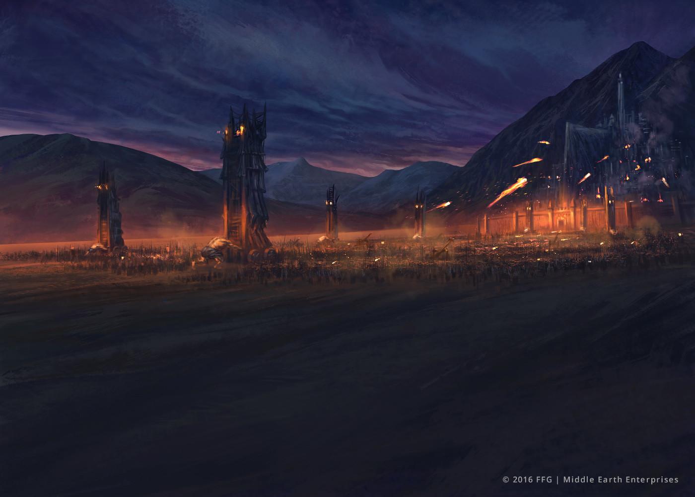 Minas Tirith Besieged
