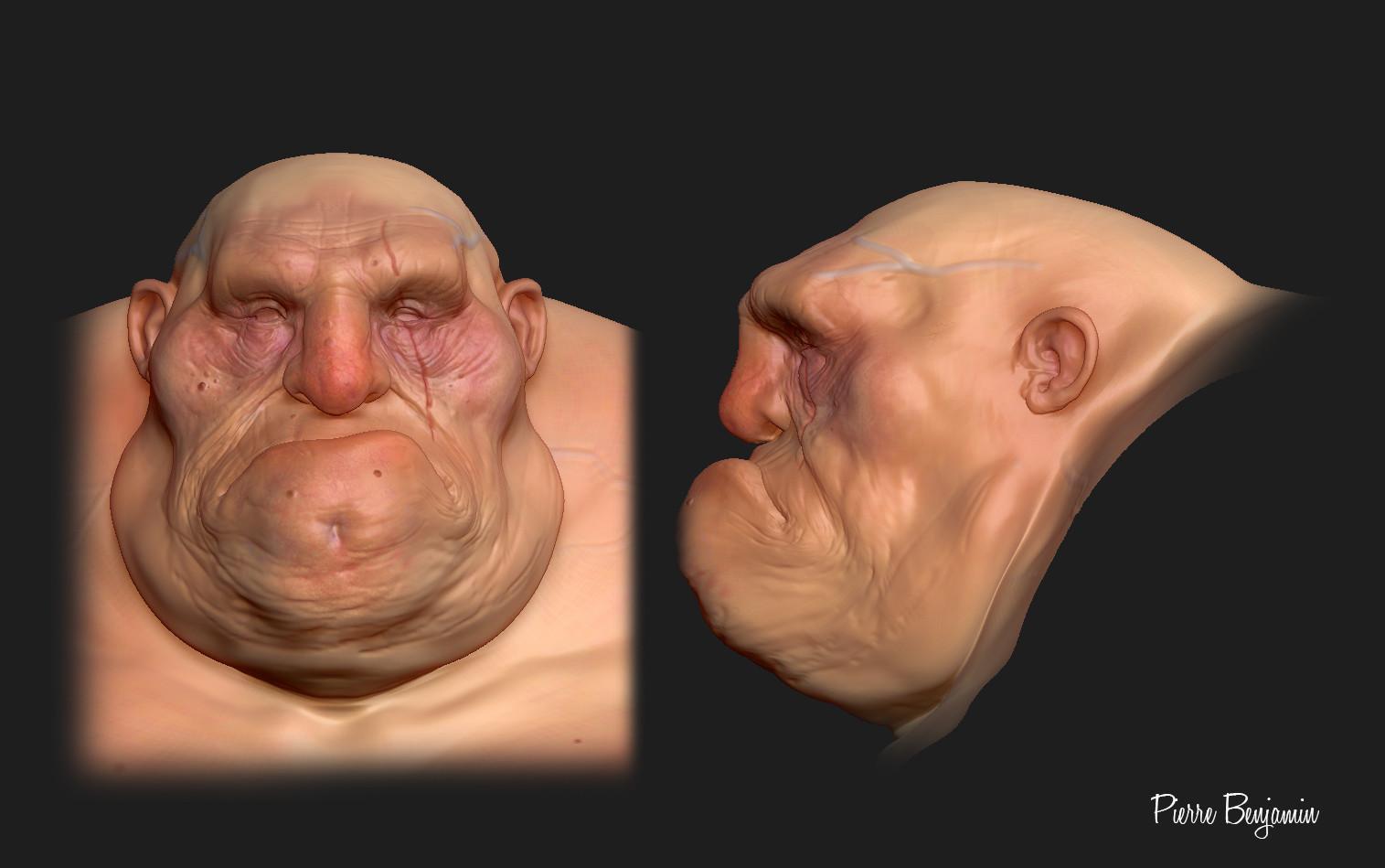 Pierre benjamin head texture 004