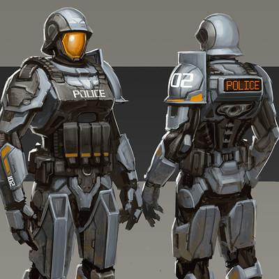 Dave jones police armor