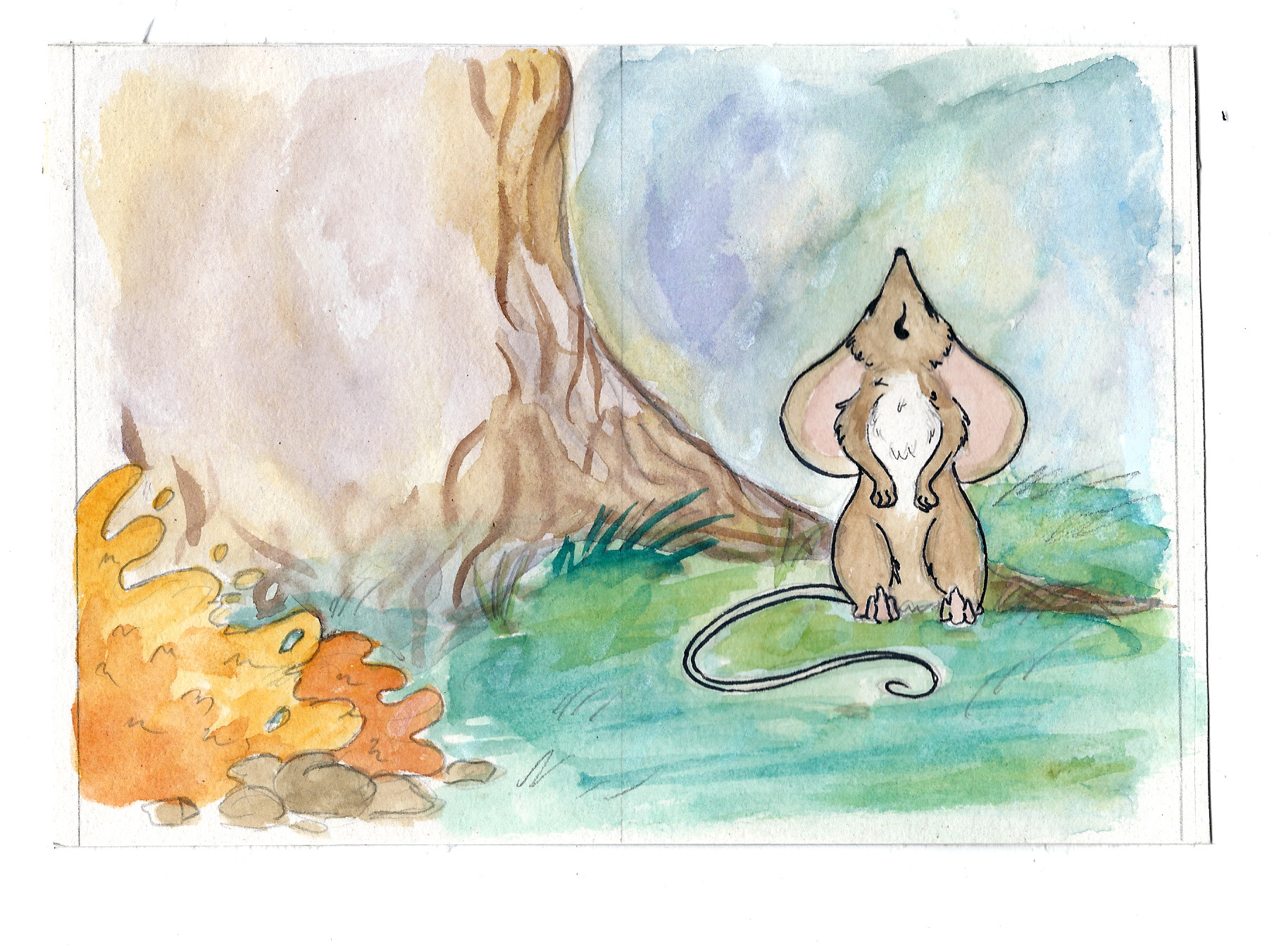 the elf and the dormouse