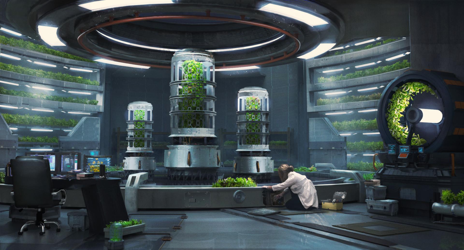 Indoor Plants For Dark Rooms Artstation Think Vertically Oliver Guiney