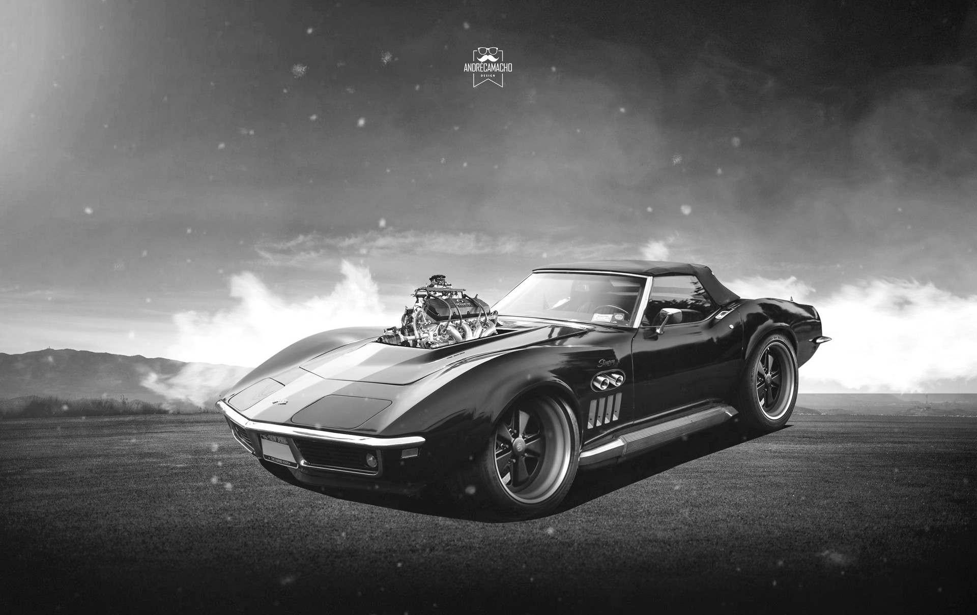 Andre camacho design chevrolet corvette stingray 1969ryuruw345