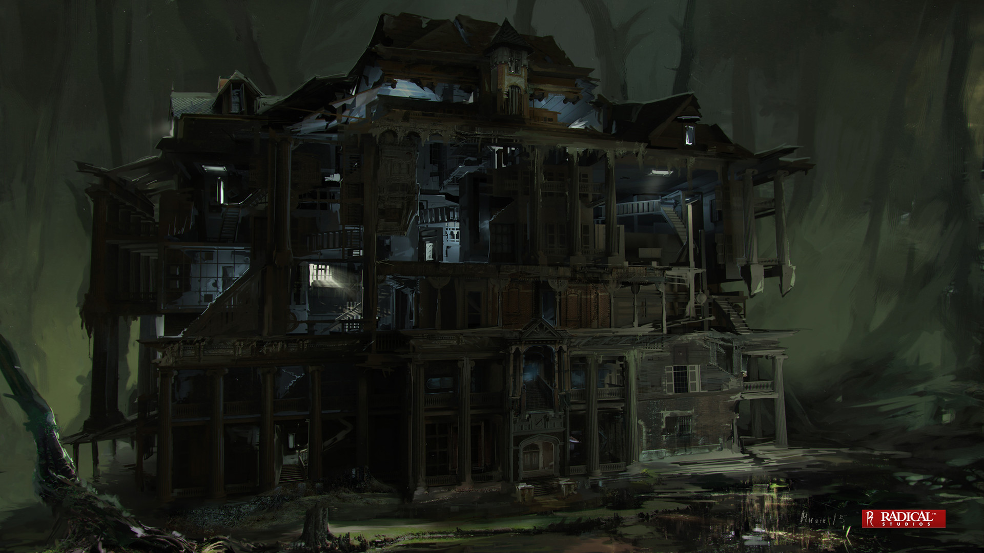 Sergey musin abattoir concept face wholehouse 01