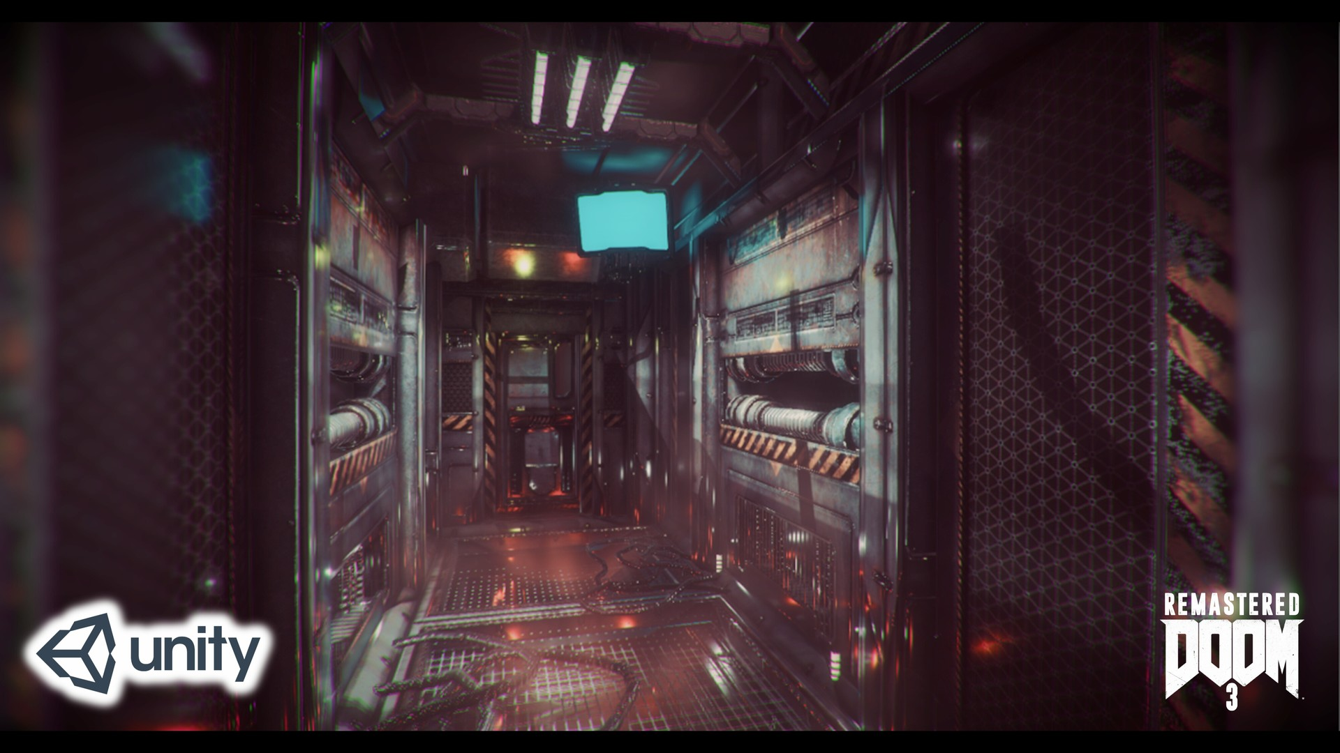 ArtStation - DOOM 3 Remastered Unity 5, Raihan Erviansyah