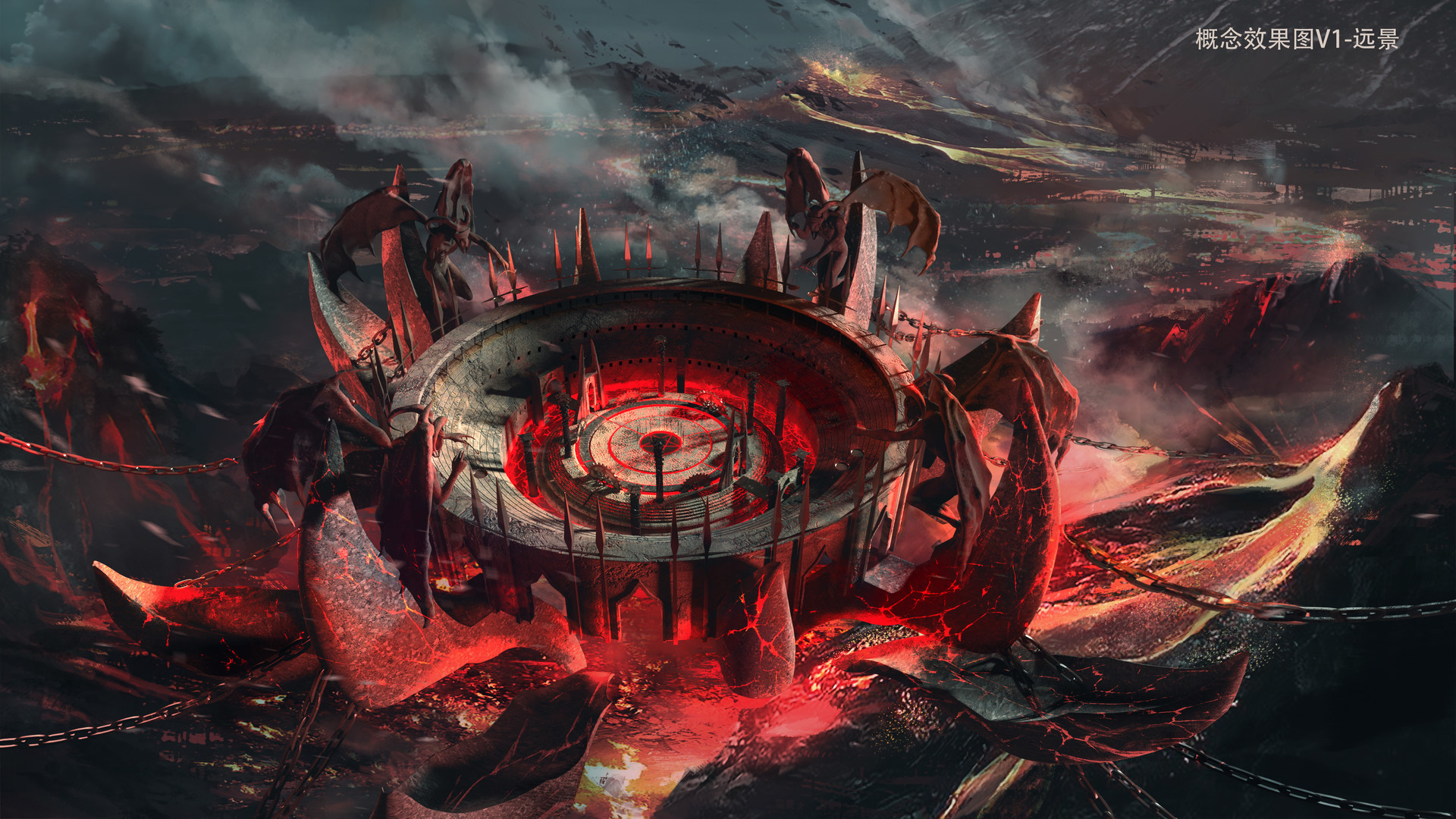 Artstation Colosseum Environment Concept La Phomma