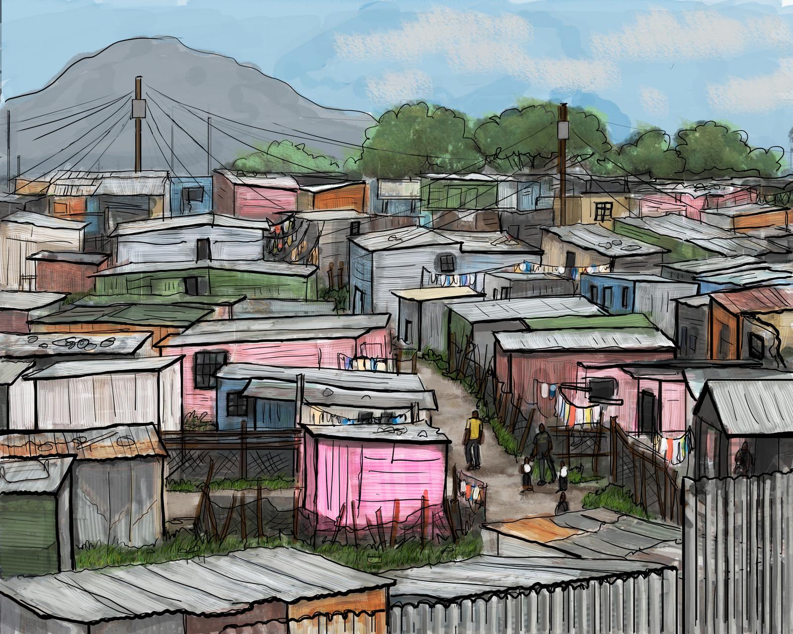Cape Town slum